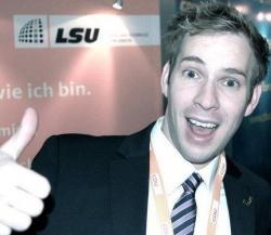 Selbst innerhalb der LSU hat es Ronny Pohle mit seinen Position nicht leicht - Quelle: privat