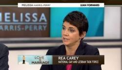 LGBT-Aktivistin Lea Carey bedauert, dass sie sich nun gegen das Gesetz aussprechen muss – obwohl sie zwei Jahrzehnte lang dafür gekämpft hatte