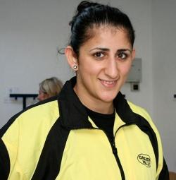 Rola El-Halabi gewann die WM-Titel der Verb�nde WIBF und WIBA