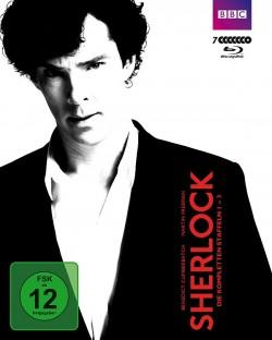 """Die DVD-Box mit den Staffeln 1-3 von """"Sherlock"""" ist am 25. September 2015 erschienen"""