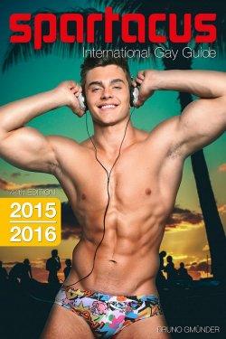 """Der 44. """"Spartacus International Gay Guide"""" ist Anfang M�rz 2015 im Bruno Gm�nder Verlag erschienen"""