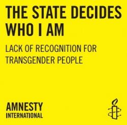 Laut Amnesty International ist in Europa noch viel zu tun, damit Trans-Diskriminierung der Vergangenheit angehört
