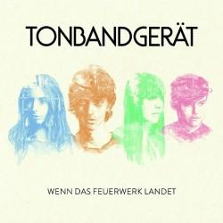 """Das zweite Album """"Wenn das Feuerwerk landet"""" der Hamburger Band Tonbandgerät ist am 1. Mai 2015 erschienen"""