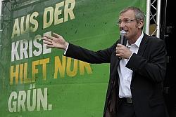 Fraktionsgeschäftsführer Volker Beck will die Äußerungen Dobrindts nicht auf sich sitzen lassen - Quelle: Grüne NRW / flickr / cc by-sa 2.0