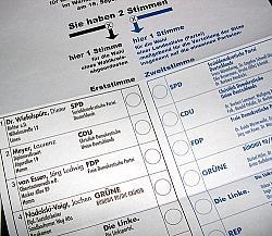 Am 22. September d�rfen die Deutschen zum 18. Mal einen Bundestag w�hlen