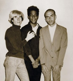 Andy Warhol steht auf Basquiat, Clemente ist noch sch�chtern - Quelle: Bundeskunsthalle Bonn