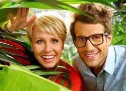 Sonja Zietlow und Daniel Hartwich moderierten nach dem Tod Dirk Bach die siebte Staffel der inzwischen legend�ren Dschungelshow - Quelle: RTL