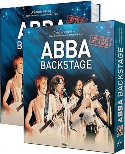 """Das Fanbuch """"ABBA – Backstage"""" ist am 31. März 2014 im Heel Verlag erschienen"""