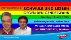 """So sieht es aus, wenn sich die """"Homosexuellen in der AfD"""" zum IDAHOT """"engagieren"""""""