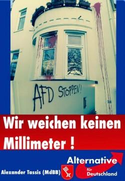 """Auf Facebook verbreiteten die """"Homosexuellen in der AfD"""" diesen Flyer"""