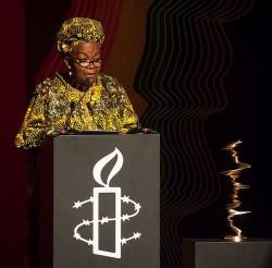 Alice Nkom gründete vor über zehn Jahren Kameruns erste LGBT-Organisation - Quelle: Christian Ditsch/Amnesty International.
