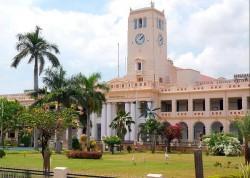 Schauplatz der Handlung: die Annamalai Universität im südindischen Chidambaram