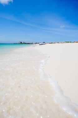 Schwuler Treffpunkt auf der Insel: der Eagle Beach zählt zu den schönsten Stränden der Welt - Quelle: Aruba Tourism Authority