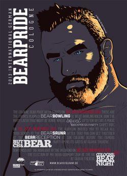 Plakat zur diesjährigen Bearpride Week