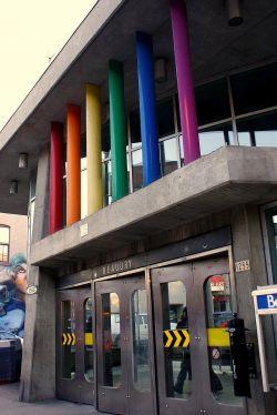 Regenbogenbahnof: Mittem im Gay Village lieft die Metrostation Beaudry - Quelle: flickr / Evelyne Awaad / cc by 2.0