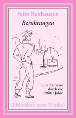 """Das Cover der M�nnerschwarm-Ausgabe in der """"Bibliothek rosa Winkel"""""""