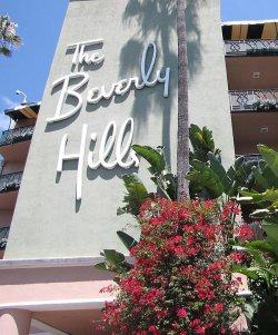 """Das Luxushotel """"The Beverly Hills"""" in Los Angeles, das sich im Besitz des Sultans von Brunei befindet, wird seit Einf�hrung der Scharia von zahlreichen Prominenten boykottiert"""