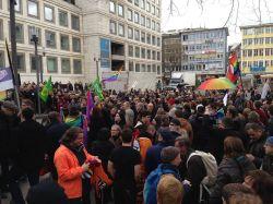 """Die """"Kundgebung f�r Vielfalt"""" blieb friedlich und bei positiven Botschaften"""