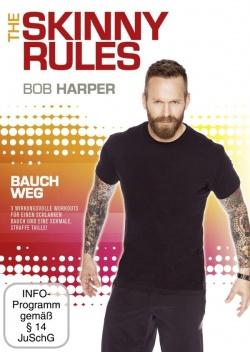 """Die DVD """"Bauch Weg"""" der Fitnesserie """"Bob Harper: The Skinny Rules"""" ist am 25.04.2014 in Deutschland erschienen"""