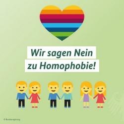 Die deutsche Bundesregierung zeigte am Dienstag, dass sie nicht einmal die Farben der Regenbogenflagge kennt � und dann verbreitete sie zum IDAHOT sogar noch Merkels Bauchgef�hl