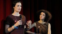 Die beiden Regisseurinnen: Katherine Fairfax Wright (li) und Malika Zouhali-Worrall