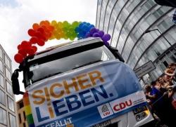 In diesem Jahr ist für die CDU unterm Regenbogen kein Platz - Quelle: LSU Berlin
