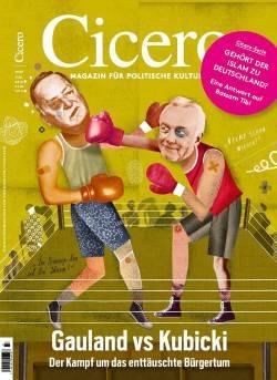 """Cover der Juli-Ausgabe des Magazins """"Cicero"""" mit Gauland und Kubicki"""