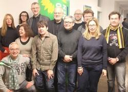 Die grünen Kandidaten für die Bezirksvertretung Köln-Innenstadt - Quelle: Andreas Wolter