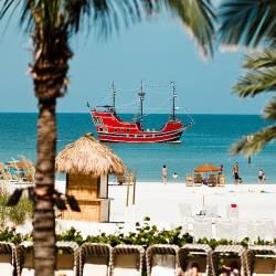 Piratenschiff vor Clearwater Beach - Quelle: VSPC