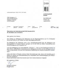 """""""CSD als örtliche, nichtpolitische Veranstaltung"""": Der Brief des Bürgermeisters an den CSD-Verein"""