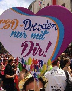 Happy End in der s�chsischen Landeshauptstadt - Quelle: CSD Dresden