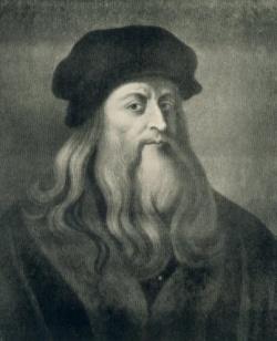 Leonardo da Vinci im Selbstportrait