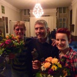 """Sichtbarkeit von Positiven ausgezeichnet: Das """"Stra�enbahn-Projekt"""" der Braunschweiger Aids-Hilfe erhielt den Hans-Peter-Hauschild-Preis - Quelle: DAH"""