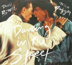 """""""Dancing on the Street"""" - Ein gemeinsamer Hit von Bowie und Jagger, ein Jahrzehnt nach ihrer Liebesaffäre - Quelle: Screenshot"""