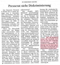 """Die neue Veröffentlichung des """"Delmenhorster Kreisblatts"""""""