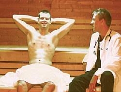 Erfolgreiche Pr�ventionsaktion in Essen: Sein mehreren Jahren kommt der Doktor in die Szene - Quelle: Aids-Hilfe Essen