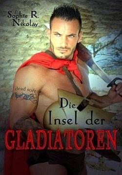 """Den Verlagsnamen auf den Oberarm t�towiert: """"Die Insel der Gladiatoren"""" ist im Dead Soft Verlag erschienen"""