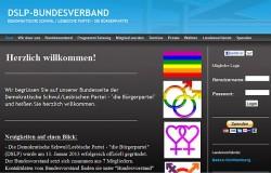 DSLP-Homepage im schlichten Design: Spenden sind schon m�glich