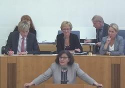Marlies Kohnle-Gros (CDU) sorgt sich bei homosexuellen Paaren um die Kinder