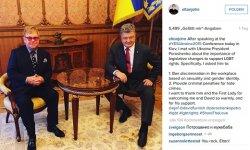 Elton John hatte seinen Besuch in der Ukraine zu einer ernsten und effektiven Diplomatie f�r LGBT-Rechte genutzt. Sein Tauziehen mit Putin wird erst sp�ter beurteilt werden k�nnen