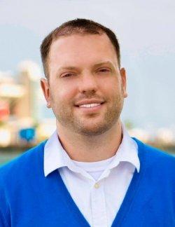 Eric Skains ist einer der Organisatoren des St Pete Pride. Er selbst zog vor einigen Jahren von Texas zur Tampa Bay - Quelle: privat