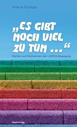 Ariane R�digers Interviewband ist im Berliner Querverlag erschienen