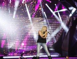 Deutschlands Beitrag Cascada: Natalie Horler gibt alles - Quelle: eurovision.tv