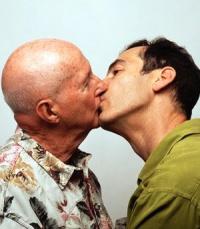 Zwei Männer schwulen Sex