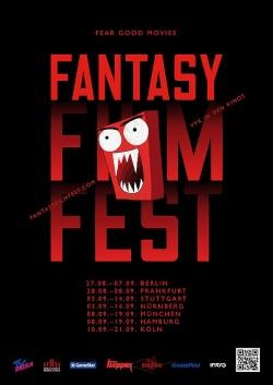 """Plakat zum Fantasy Filmfest 2014. Weitere queere Highlights sind  u.a. """"Man on High Heels"""" von Jang Jin, """"Nurse 3D"""" von Douglas Aarniokoski sowie """"Under the Skin"""" von Jonathan Glazer"""