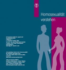 """In einem Flyer des DISJ wird auch über die """"Veränderung"""" Homosexueller berichtet."""