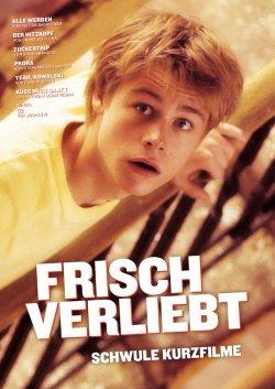 """Die Kurzfilmsammlung """"Frisch verliebt"""" ist Ende Februar 2014 in der Edition Salzgeber erschienen"""