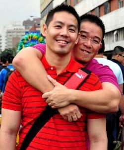 Die beiden Aktivisten sind seit 15 Jahren ein Paar