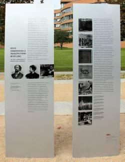 Am Magnus-Hirschfeld-Ufer erinnern bereits Gedenktafeln an die erste homosexuelle Emanzipationsbewegung