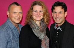 Keith Matschulla, Wibke Korten und Torsten Schrodt wollen die Jugendarbeit f�r Schwule und Lesben verbessern